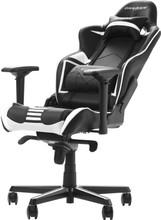 DX Racer RACING PRO Gaming Chair Zwart/Wit