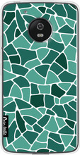 Casetastic Softcover Motorola Moto G5 Aqua Mosaic