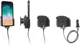 Brodit Verstelbare Houder USB iPhone X Actief