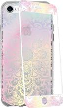 GoCase Kit iPhone 7/8 Full Body Iridescent Mandala