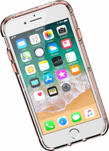 Griffin Survivor Clear iPhone 6/6s/7/8 Back Cover Rose Gold