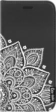Casetastic Wallet Apple iPhone X Floral Mandala Zwart