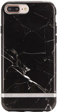 Richmond & Finch Marble iPhone 6+/6s+/7+/8+ Back Cover Zwart