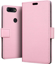 Just in Case Wallet OnePlus 5T Book Case Roze