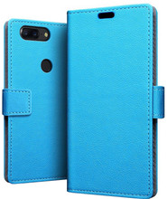 Just in Case Wallet OnePlus 5T Book Case Blauw