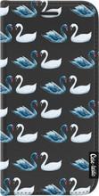 Casetastic Wallet Apple iPhone X Swan Party Zwart