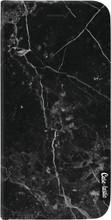 Casetastic Wallet Apple iPhone X Black Marble Zwart