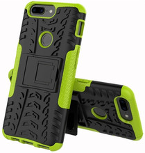 Just in Case Rugged Hybrid OnePlus 5T Back Cover Groen