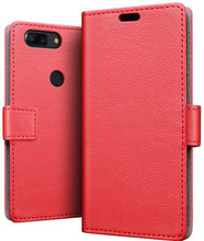 Just in Case Wallet OnePlus 5T Book Case Rood