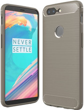 Just in Case Rugged TPU OnePlus 5T Back Cover Grijs