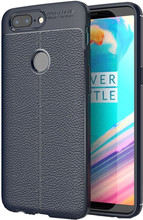 Just in Case Soft Design TPU OnePlus 5T Back Cover Blauw