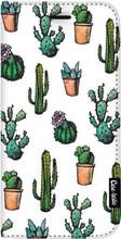 Casetastic Wallet iPhone 8 Plus Book Case Cactus Dream Wit