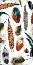 Casetastic Wallet iPhone 8 Plus Book Case Feathers Multi Wit