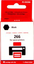 Huismerk Globe 266 Zwart voor Epson (C13T26614010)