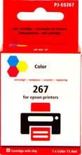 Huismerk Globe 267 3-Kleuren voor Epson (C13T26704010)