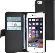 Azuri Wallet Magneet Apple iPhone 6/6s Book Case Zwart