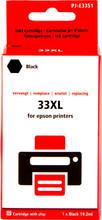 Huismerk 33XL Zwart voor Epson (C13T33514010)