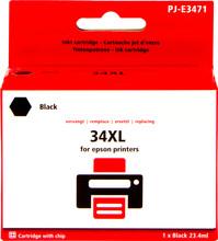 Huismerk 34XL Zwart voor Epson (C13T34614010)