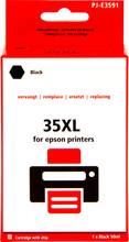 Huismerk 35XL Zwart voor Epson (C13T35914010)