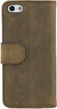 Valenta Booklet Classic Vintage Apple iPhone 5/5S/SE Bruin