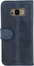 Valenta Classic Luxe Vintage Galaxy S8 Book Case Blauw