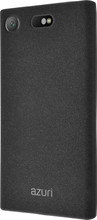 Azuri Flexible Sand Sony Xperia XZ1 Compact Back Cover Zwart
