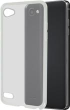 Azuri Glossy TPU LG Q6 Back Cover Transparant