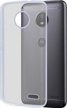 Azuri Glossy TPU Moto E4 Back Cover Transparant