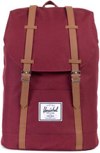 Herschel Retreat Windsor Wine/Tan Synthetic Leather