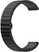 Just in Case Samsung Gear Sport Metalen Horlogeband Zwart