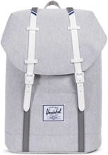 Herschel Retreat Grey Crosshatch/White