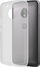 Azuri Glossy TPU Moto G5 Plus Back Cover Transparant