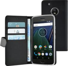 Azuri Wallet Magneet Moto G5 Plus Book Case Zwart