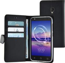 Azuri Wallet Magneet Alcatel U5 Book Case Zwart