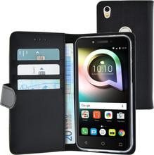 Azuri Wallet Magneet Alcatel Shine Lite Book Case Zwart