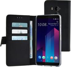 Azuri Wallet Magneet HTC U11 Plus Book Case Zwart