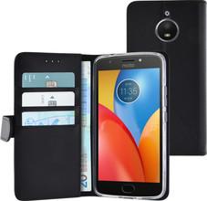 Azuri Wallet Magneet Moto E4 Plus Book Case Zwart