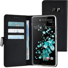 Azuri Wallet Magneet HTC U Ultra Book Case Zwart
