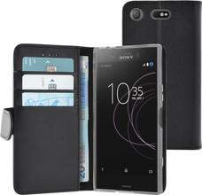 Azuri Wallet Magneet Xperia XZ1 Compact Book Case Zwart