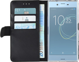 Azuri Wallet Magneet Xperia XZs Book Case Zwart