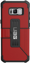 UAG Metropolis Magma Galaxy S8 Plus Book Case Rood