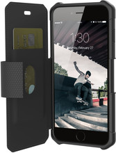 UAG Metropolis iPhone 6+/6s+/7+/8+ Book Case Zwart
