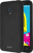 Azuri Flexible Sand Alcatel U5 Back Cover Zwart