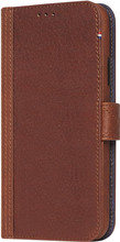 Decoded 2-in-1 Leather Wallet iPhone X Book Case Bruin
