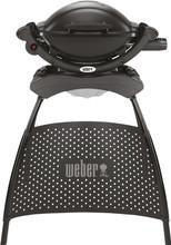 Weber Q1000 met Onderstel Zwart NL