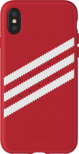 Adidas Originals Moulded Suede iPhone X Back Cover Rood