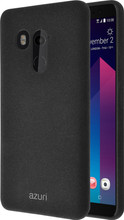 Azuri Flexible Sand HTC U11 Plus Back Cover Zwart