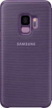 Samsung Galaxy S9 LED View Cover Paars