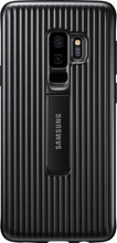 Samsung Galaxy S9 Plus Protect Stand Cover Zwart