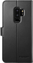 Spigen Wallet S Samsung Galaxy S9 Plus Book Case Zwart